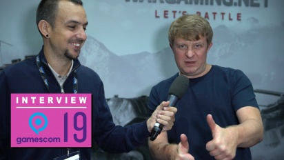 Wargaming - Interview mit Victor Kislyi (Gamescom 2019)