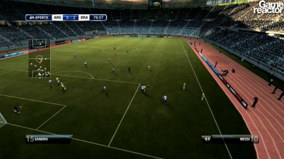 FIFA 12: Be A Pro - Gameplay