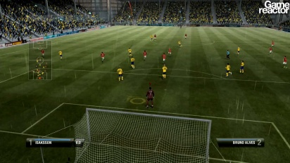 FIFA 12 - Be A Pro Goalkeeper - Gameplay