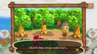 Animal Crossing: Amiibo Festival - Desert Island Escape Minigame Gameplay