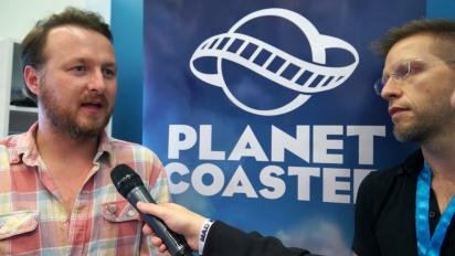 Planet Coaster - Interview John Laws & Sam Denney
