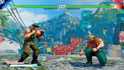 Street Fighter V - Gameplay Guile