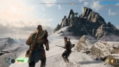 God of War - Gameplay-Clip - Wie Kratos zur Bergspitze gelangt (Spoiler)
