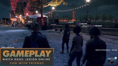 Watch Dogs: Legion - Online-Gameplay mit Freunden