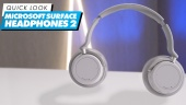 Microsoft Surface Headphones 2: Quick Look
