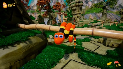 Snake Pass - Second Gameplay Teaser