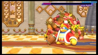 Kirby Star Allies - Bosskampf gegen King Dedede
