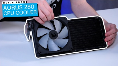 Aorus 280 CPU Cooler: Quick Look