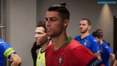 eFootball PES - EURO 2020 - Portugal vs. Italien (vollständiges Match)