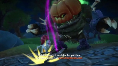 Free Realms - Halloween trailer