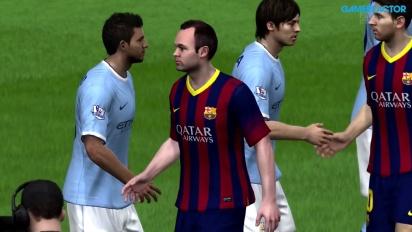 FIFA 14 - Champions League - FC Barcelona vs. Manchester City