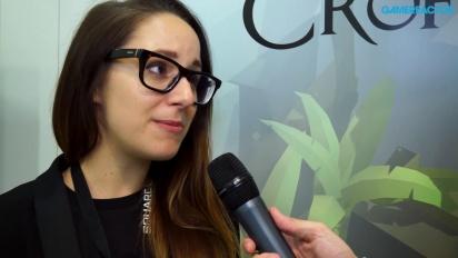 Lara Croft Go - Interview Genevieve St-Onge