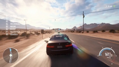 Need For Speed Payback - 'Burning Point' PC Gameplay 4K 60 FPS