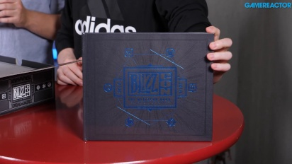 Blizzcon 2018 Swag Box - Unboxing