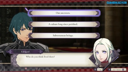 Fire Emblem: Three Houses - Gespräche (Gameplay)