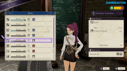 Fire Emblem: Three Houses - Vorlesungen (Gameplay)