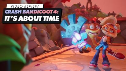 Crash Bandicoot: It's About Time - Videokritik