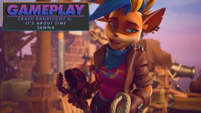 Crash Bandicoot 4: It's About Time - Tawna-Gameplay