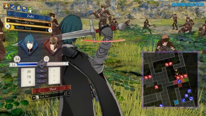 Fire Emblem: Three Houses - Gameplay-Schlacht