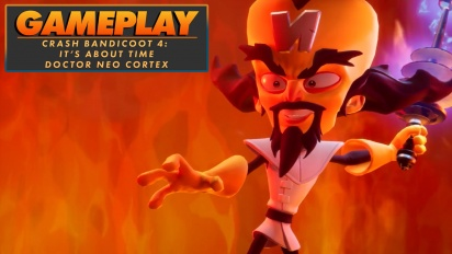 Crash Bandicoot4: It's About Time - Neo Cortex (Gameplay)