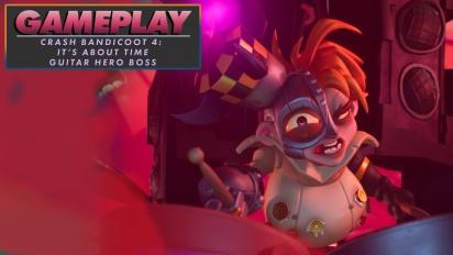 Crash Bandicoot 4: It's About Time - Guitar-Hero-Boss (Gameplay)