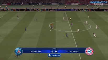 FIFA 21 Gameplay - PSG gegen Bayern