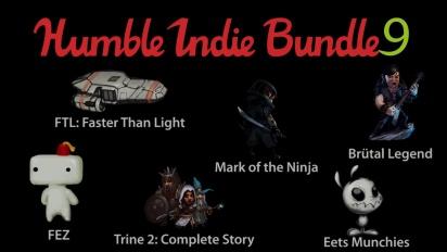 Humble Indie Bundle 9 - Trailer