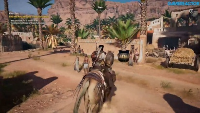Gamereactor spielt Assassin's Creed Origins