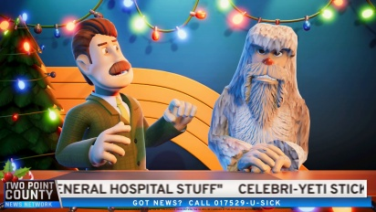 Two Point Hospital: Bigfoot DLC - Official Trailer