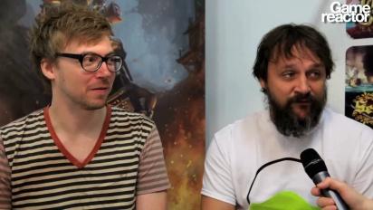GC 12: Gameglobe - Interview Rune Vendler & Hugh Grimley