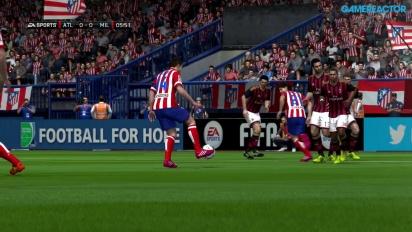 FIFA 14 - Champions League - Atlético Madrid vs. AC Mailand