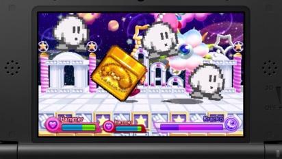 Kirby Fighters Deluxe - Launchtrailer (Deutsch)