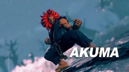 Street Fighter V - Akuma Reveal Trailer