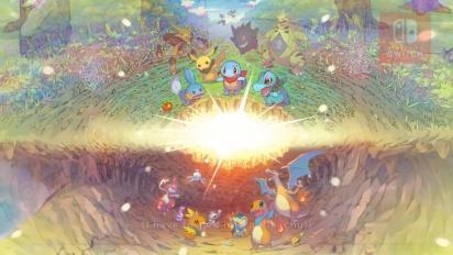 Pokémon Mystery Dungeon: Rescue Team DX - Announcement Trailer