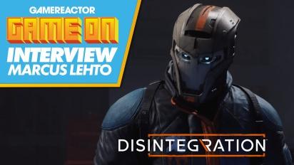 Disintegration - Interview mit Marcus Lehto zum Launch