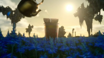Final Fantasy XV - Schräger japanischer Cup Noodle-Werbeclip