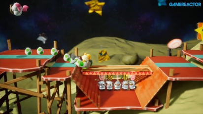 Yoshi's Crafted World - The Countdown Begins Gameplay