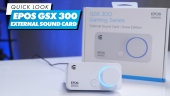 Epos GSX300 External Sound Card: Quick Look