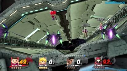 Super Smash Bros. für Wii U - Gameplay - 4-Spieler Smash: Orbitales Tor