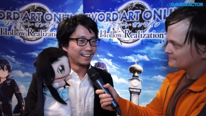 Sword Art Online: Hollow Realization - Interview Yosuke Futami