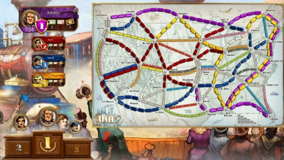 Ticket to Ride - PS4 Play Link Gameplay Trailer
