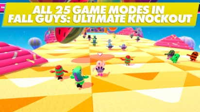 Fall Guys: Ultimate Knockout - Alle aktuell enthaltenen Minispiele