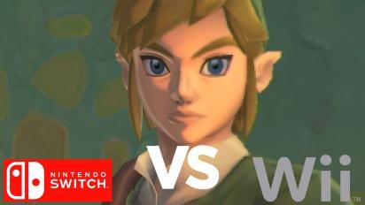 The Legend of Zelda: Skyward Sword - Grafikvergleich Nintendo Switch vs. Nintendo Wii