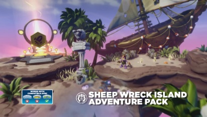 Skylanders SWAP Force: Sheep Wreck Island Adventure Pack
