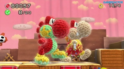 Let's Play - Yoshi's Woolly World - Welt 1-6 / 1-7 - Koop-Modus