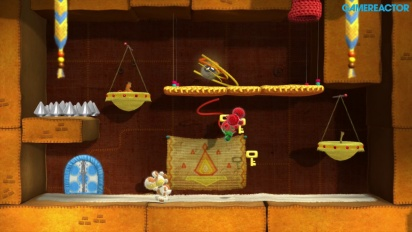 Let's Play - Yoshi's Woolly World - Welt 2-2 / 2-3 / 2-7 - Koop-Modus