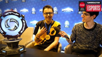 IEM Katowice 2018 - Heroes of the Storm (Western Clash) - Interview mit Snitch (nach dem Finale)