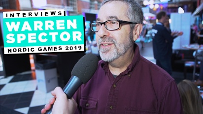 Nordic Game 19 - Interview mit Warren Spector