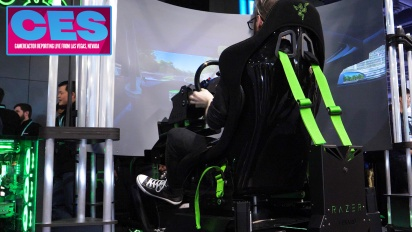 CES20 - Interview mit Kevin Allen über Razers Eracing Simulator