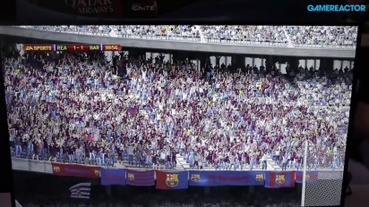 FIFA 14 - PS4 Gameplay FC Barcelona vs. Real Madrid